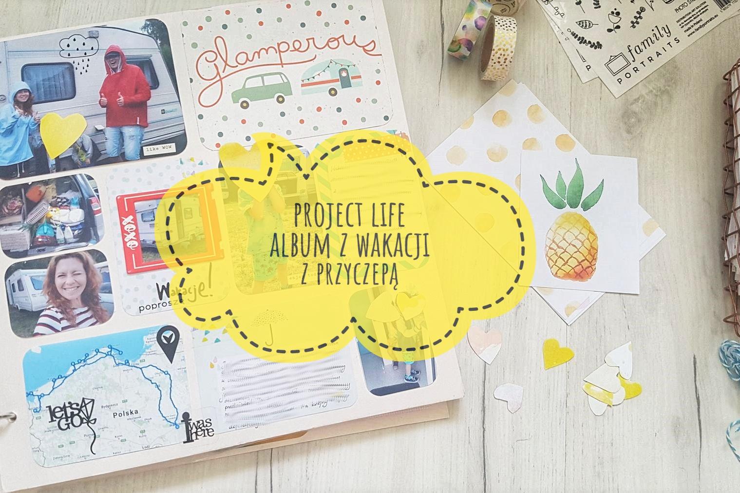 Project Life album z wakacji