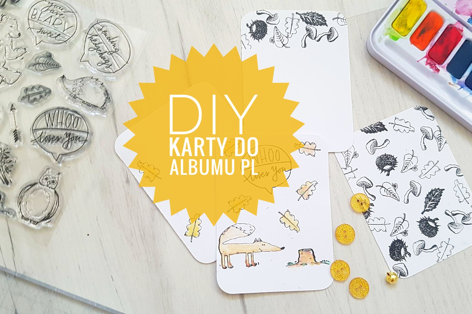 DIY karty do Project Life
