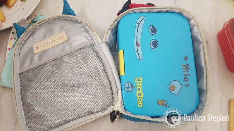 Tyle miejsca zajmuje w średniej wielkości torbie termicznej dziecięcej
