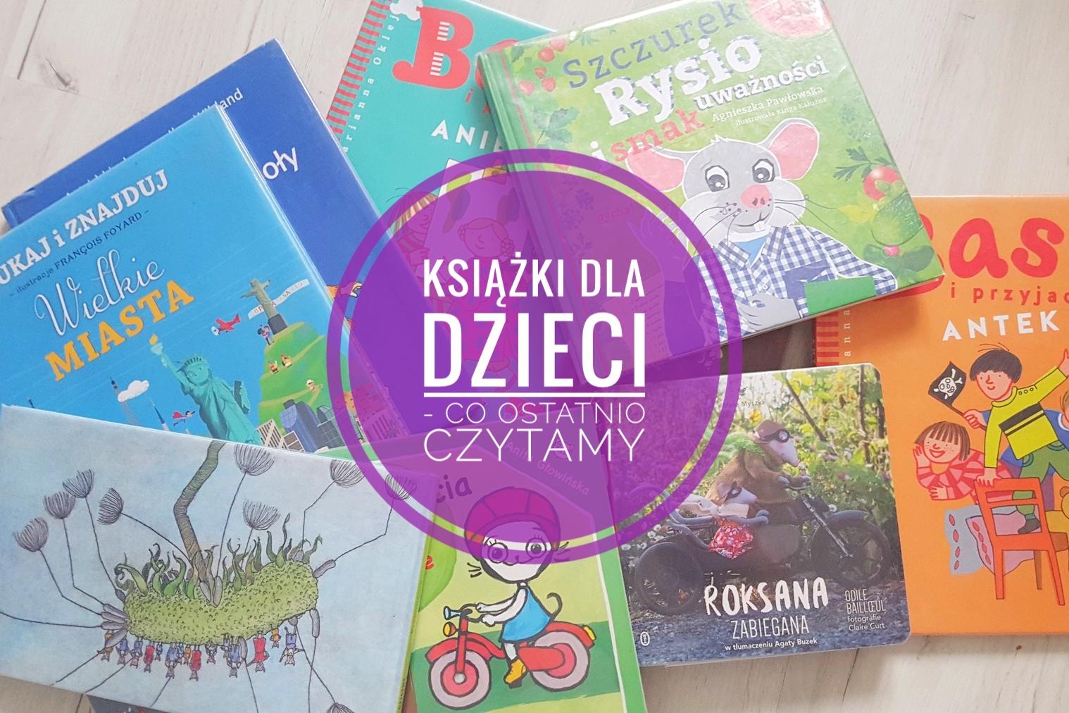 Książki dla dzieci biblioteczka