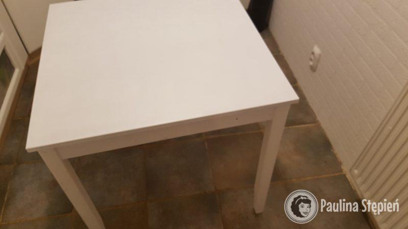 A to stół