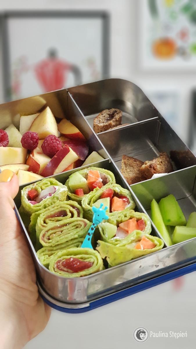 Lunchbots Stalowy Lunchbox Z Przegrodkami