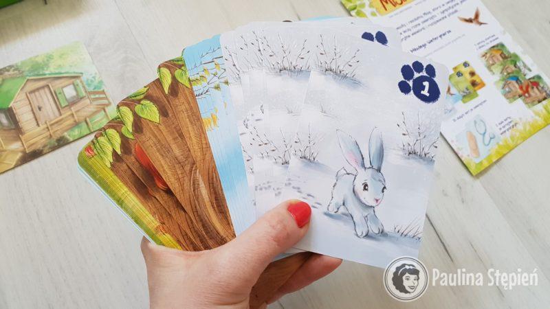Karty ze zwierzątkami
