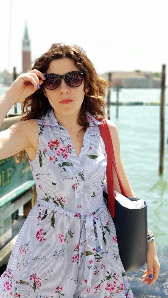 I moja ukochana sukienka na tle Wenecji