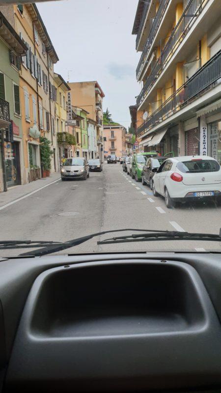 Halo GPS, czy to jest nasza droga? :) Ta akurat tak
