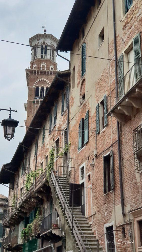 I uliczka w Weronie