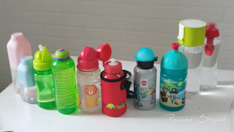 Wszystkie butelki, bidony
