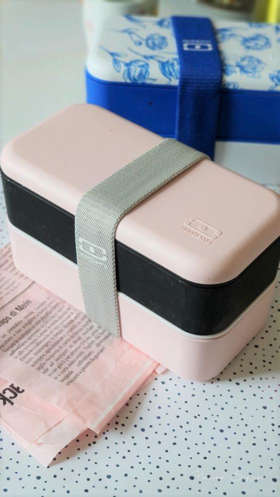 A to ukochane Monbento, mam już kilka zestawów, więc zaczynam je miksować :) pół różowego, pół czarnego :)