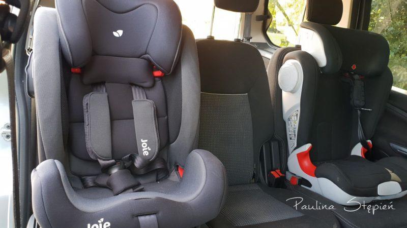Tak wygląda zamontowany fotel w samochodzie