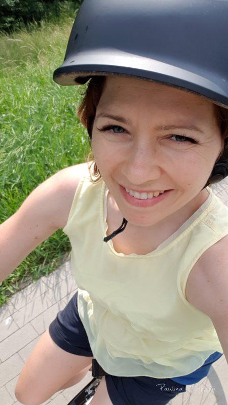 Na rowerze ;-)