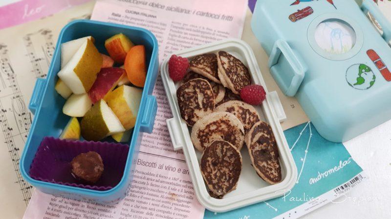Placuszki w lunchboxach