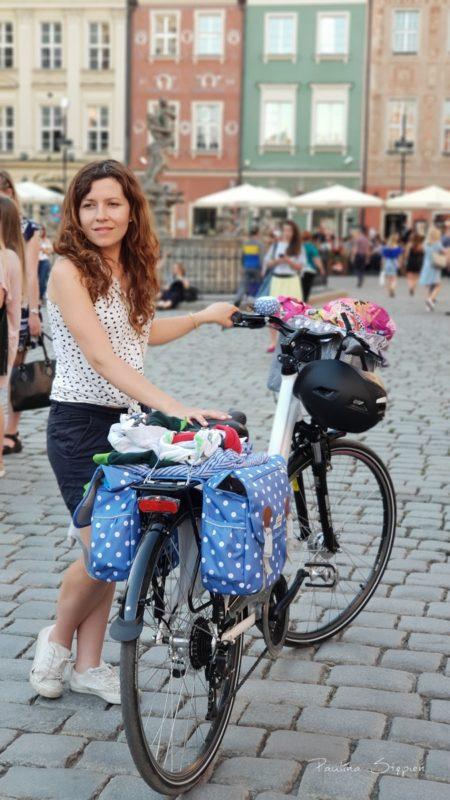 Na rynku w Poznaniu