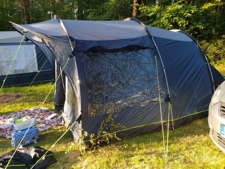 Namiot rodzinny – jaki wybraliśmy (room tour)