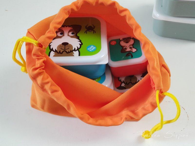 I tutaj pudełeczka z przekąskami