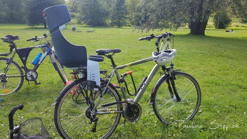 Rower z fotelikiem