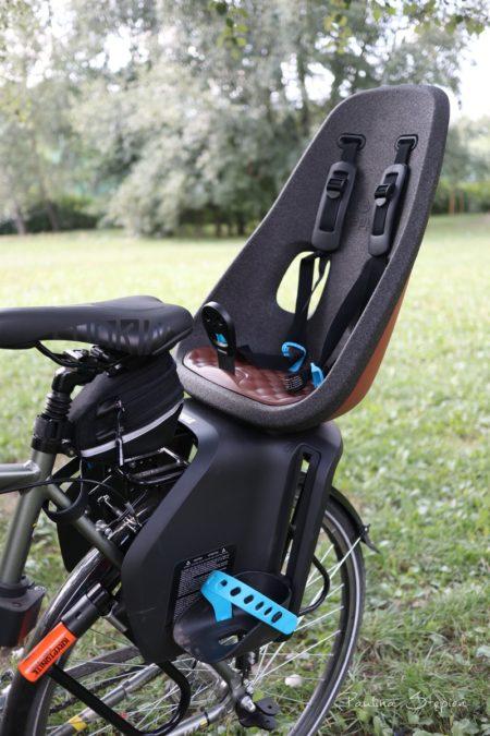 Tak wygląda zamontowany na rowerze