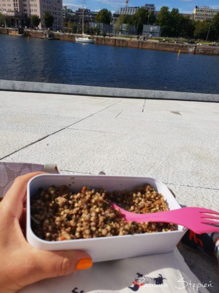Jedzenie z widokiem
