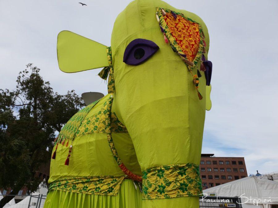 Festiwalowy słoń