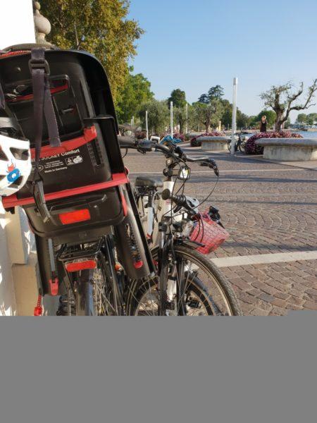 A potem pojechaliśmy na rowerach do Bardolino