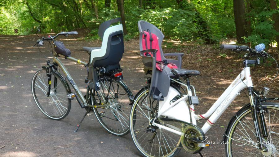 Foteliki rowerowe są bardzo różne (wbrew pozorom)
