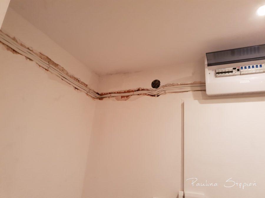 Ciągnięcie instalacji od rozdzielni domowej