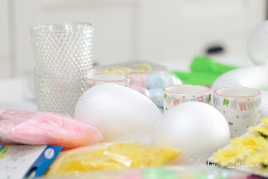 Styropianowe jajeczka