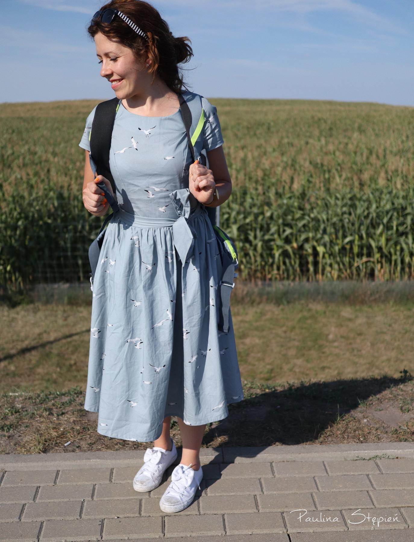 Sukienka w mewy