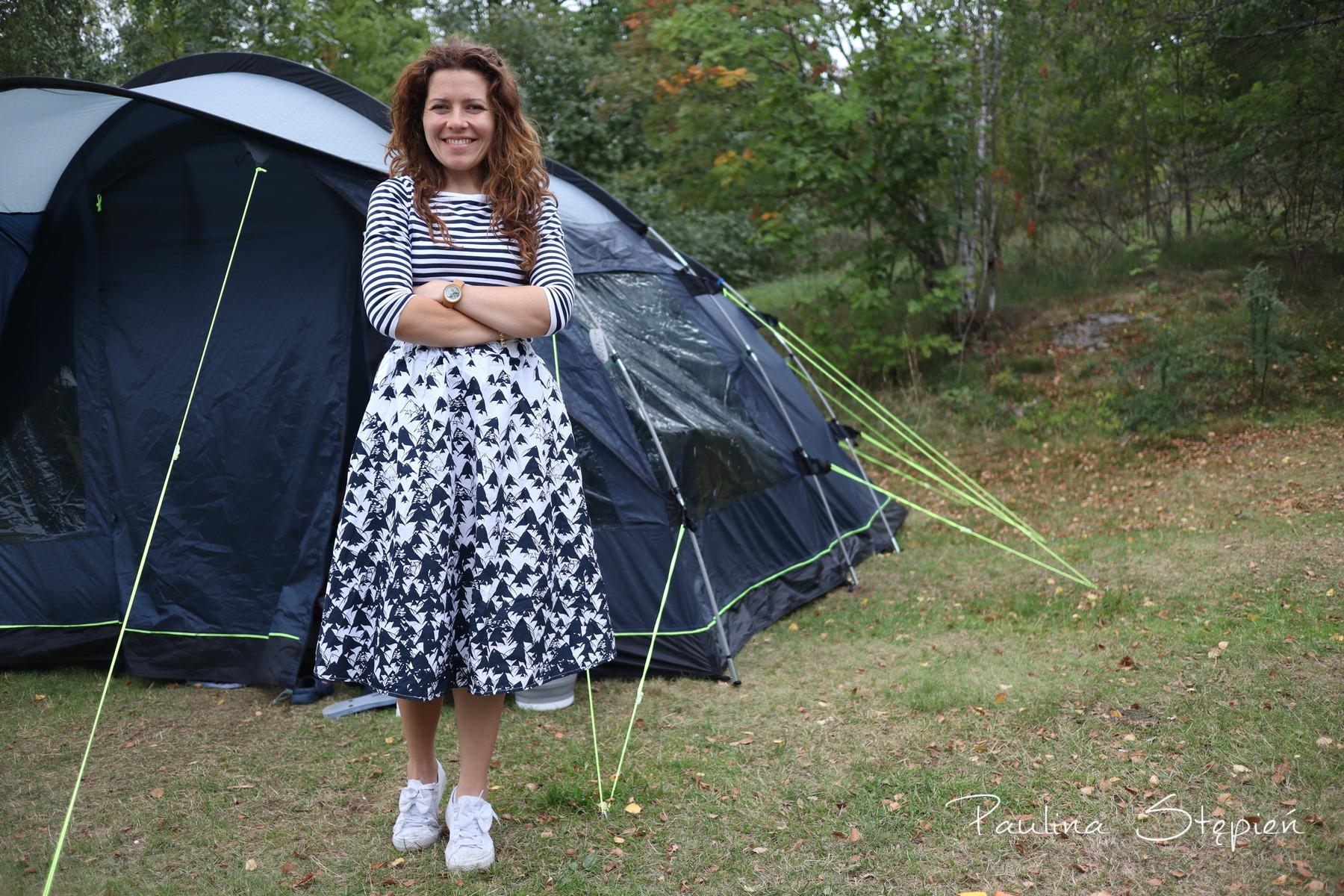I znowu pod namiotem