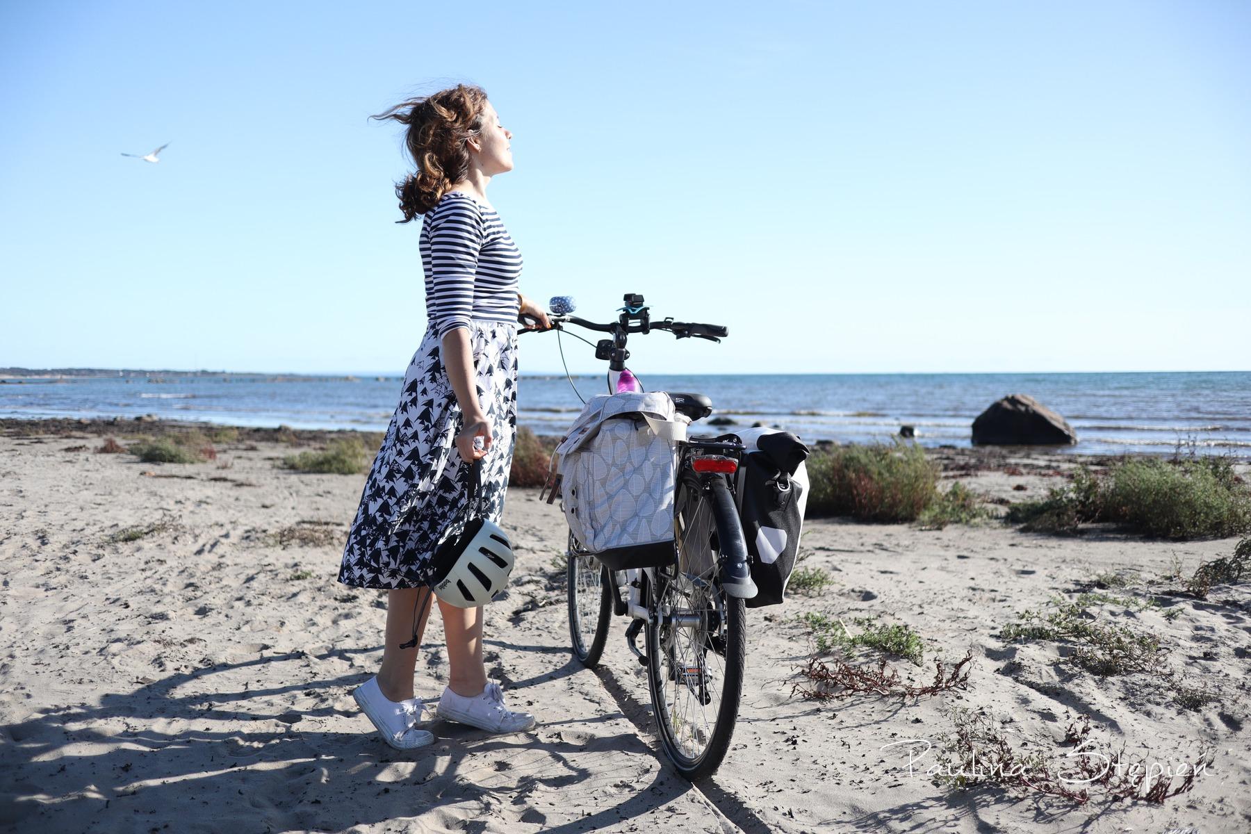 I na rowerze