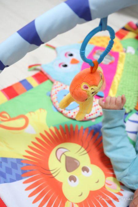 Ma kolorowe zabawki