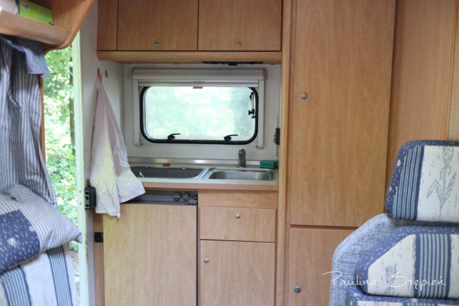 Kuchnia w kamperze
