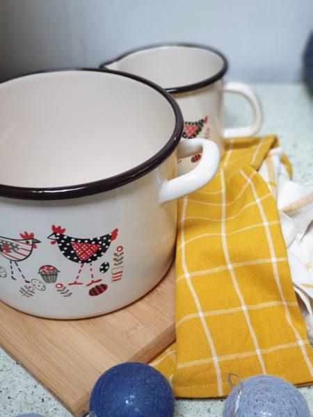 Garnki i kuchenne ściereczki