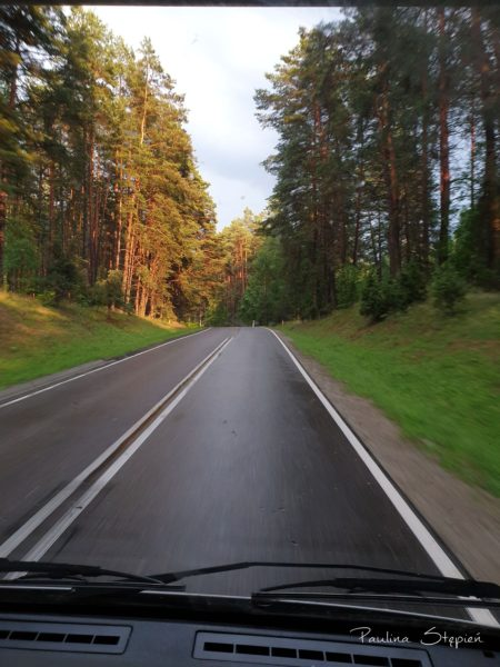 Droga na Warmię