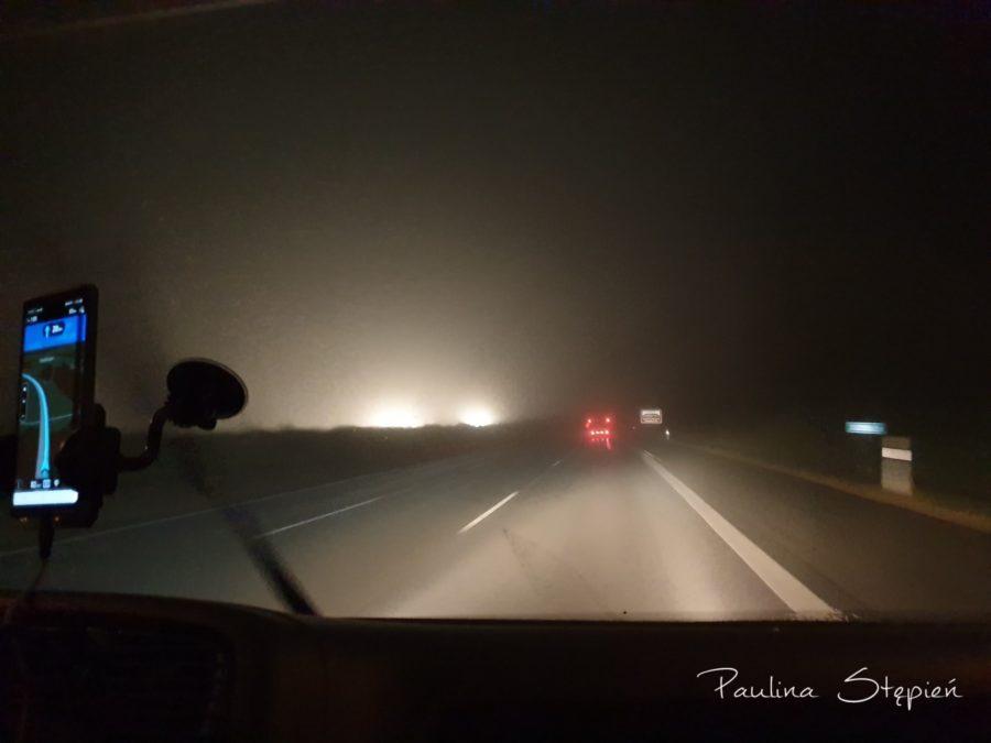 A to już mgła w drodze