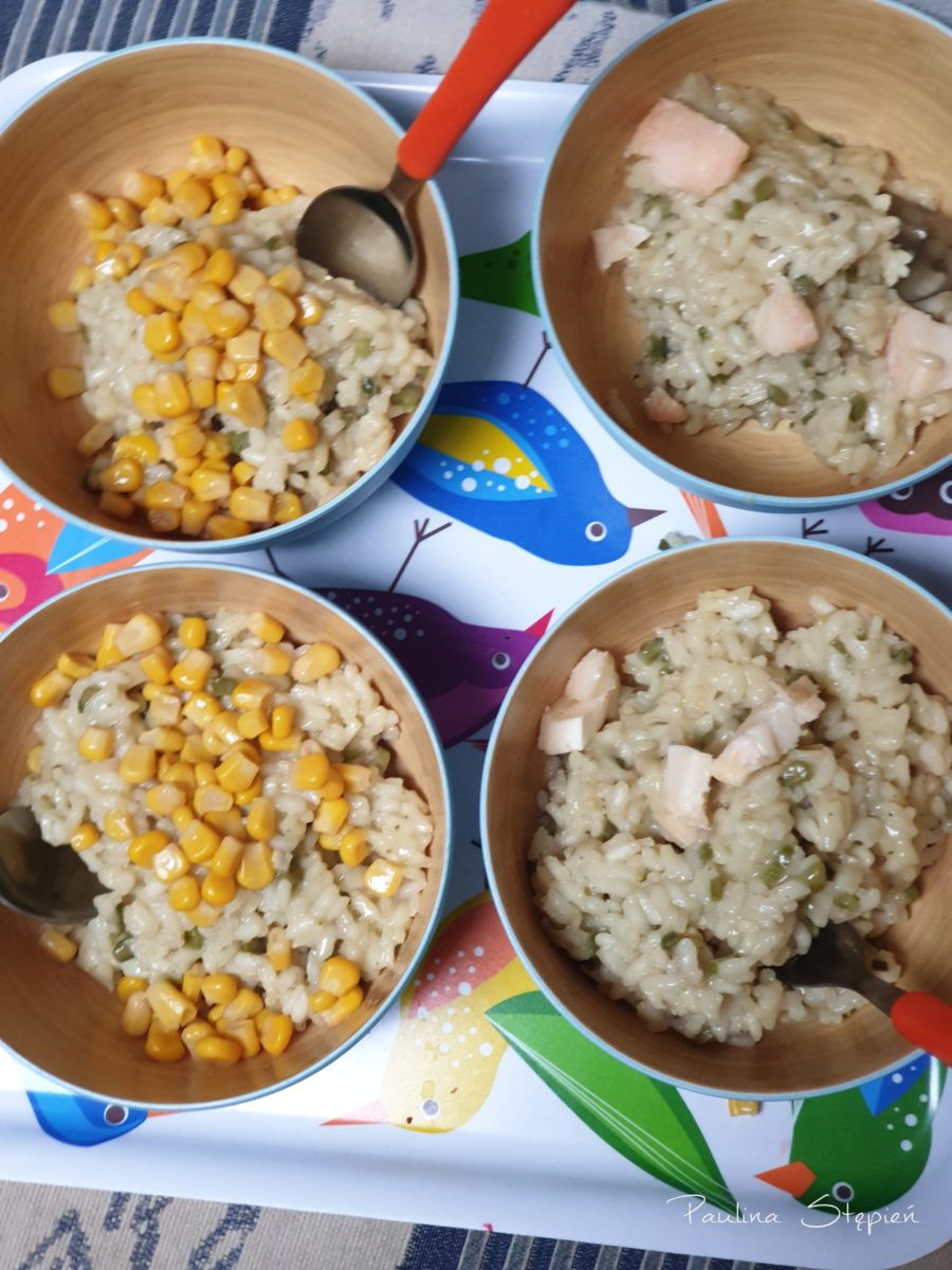 Szybki obiad risotto