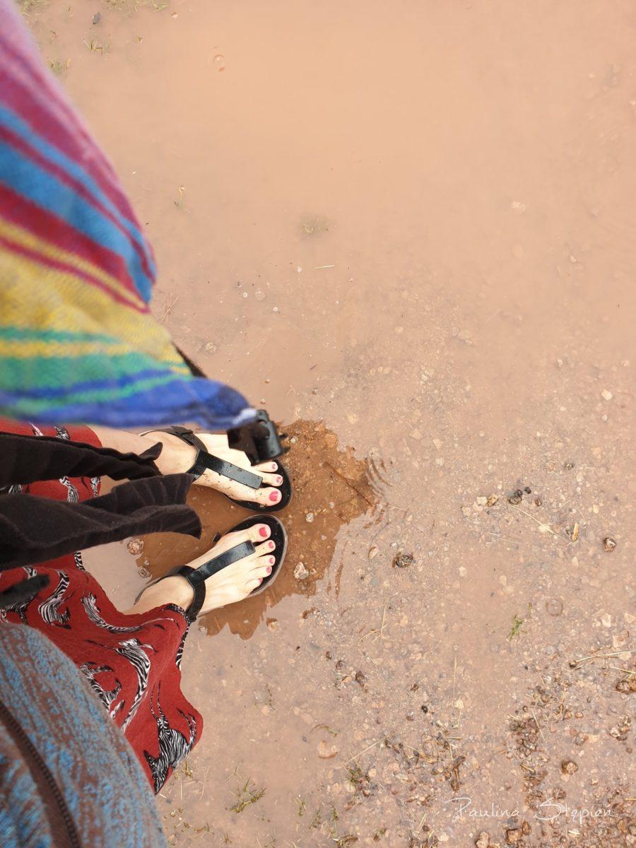 Bez sensu było zakładać buty