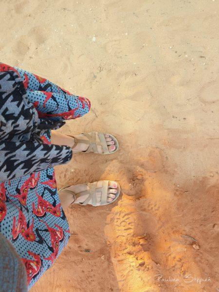 Widać kolor tego ochrowego piasku?