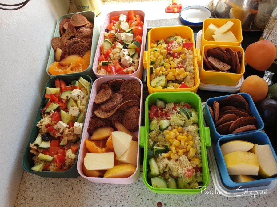 Jedzenie na drogę, czyli lunchboxy