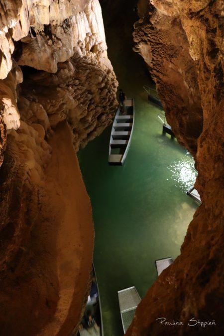 Rzeka podziemna, Padirac Cave, Francja
