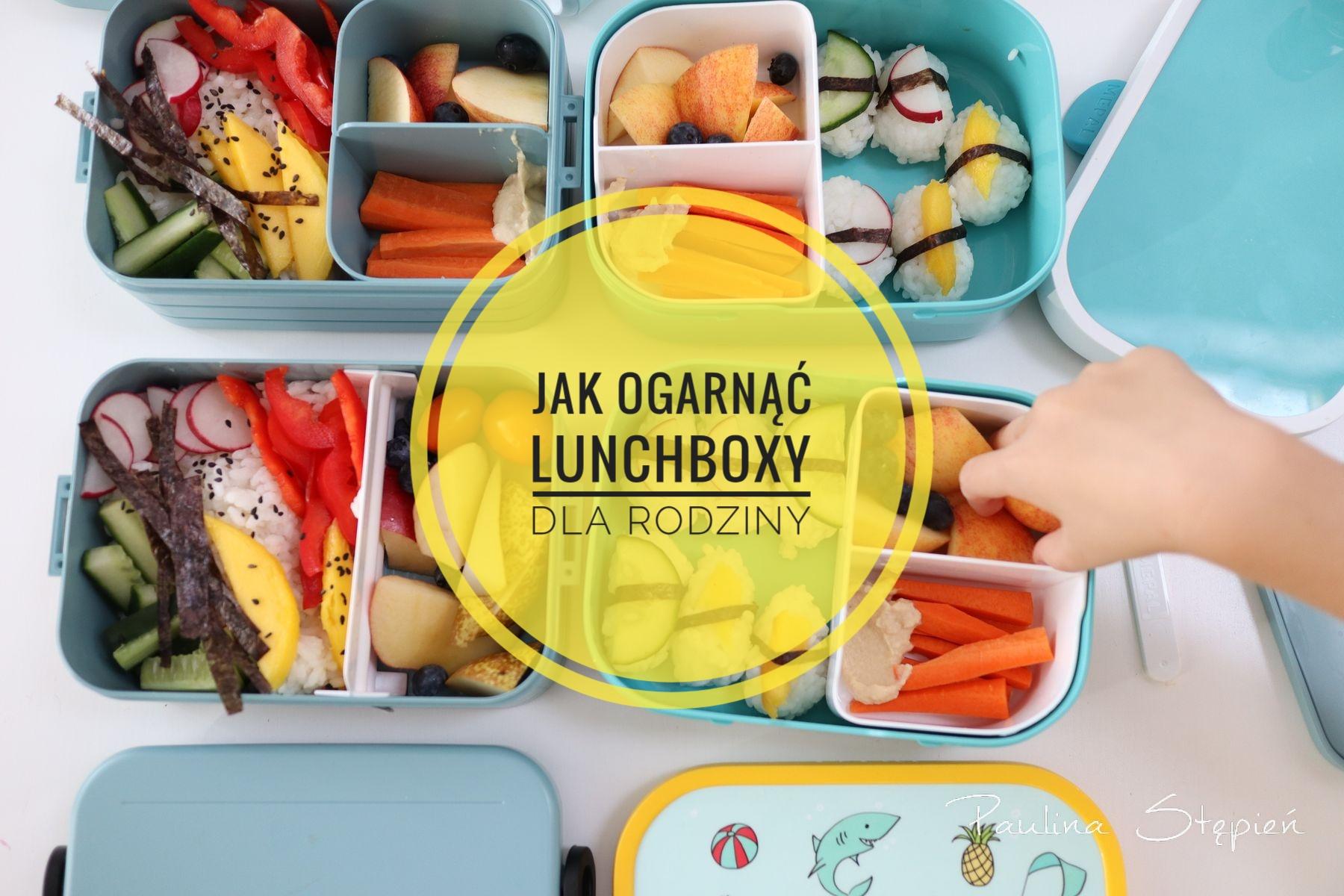 Lunchboxy dla rodziny