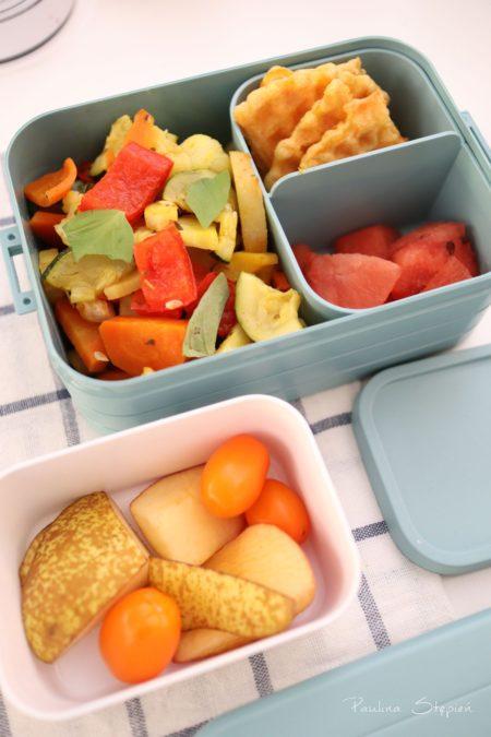 A tu pieczone warzywa, dodatki, Mepal Medium