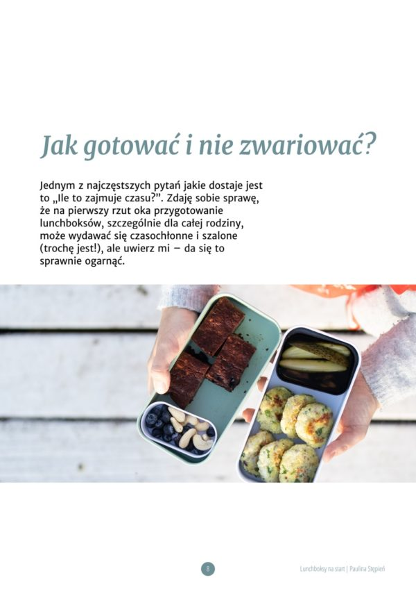 "Ebook ""Lunchboksy na start"" - Poradnik"