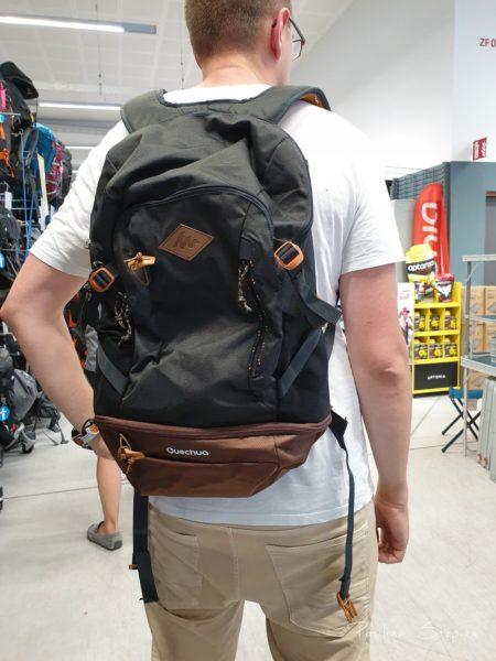 Tego plecaka nie wzięliśmy, to był błąd :)