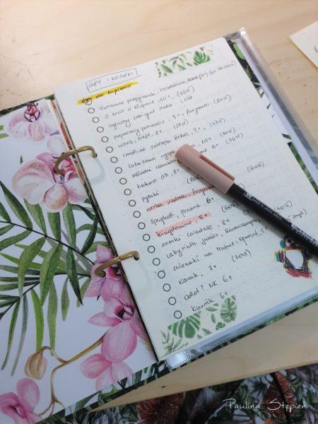 Mój tajemny notes z tajemną listą gier