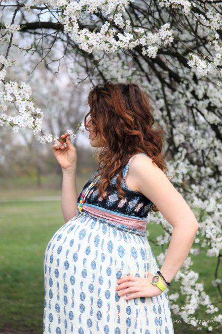 Wiosennie i ciążowo, to był piękny marzec