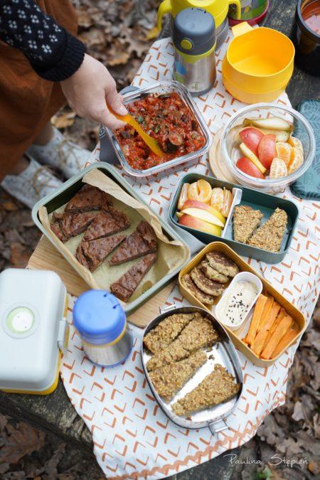 I na jesiennym pikniku