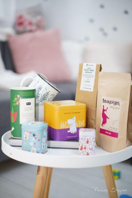 Herbaty, puszki, inne cuda