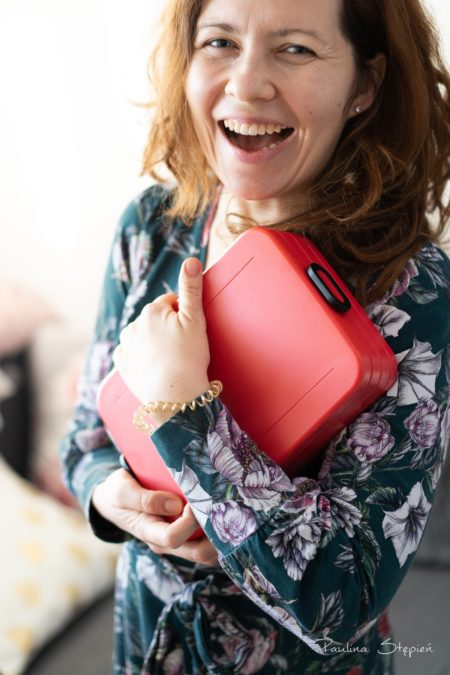 Pudełko musi być szczelne, szczególnie jeśli nosisz je w torebce czy plecaku