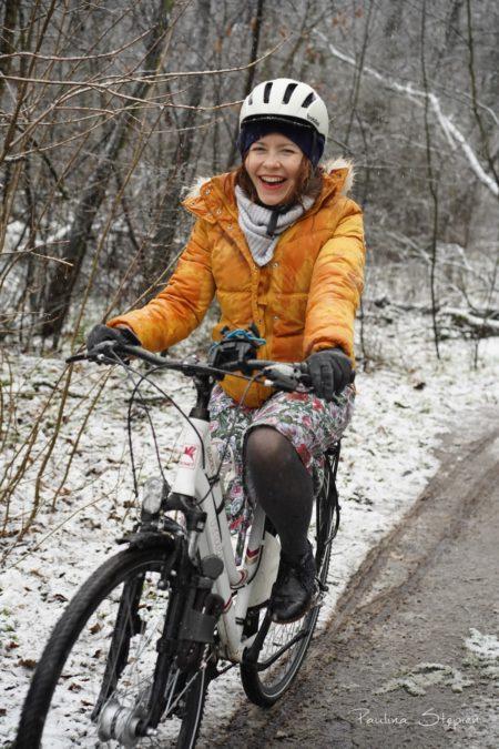 Zimowe rowerowanie