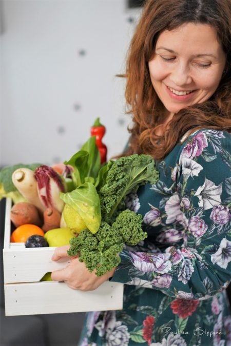 Dużo sezonowych warzyw i owoców
